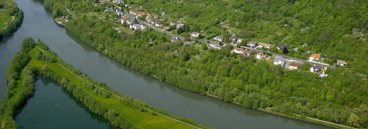 The Moselle river loop